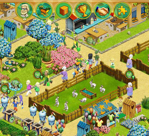 My Free Zoo >> Free online animal games